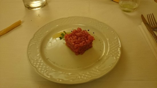 Da Francesco: Carne cruda
