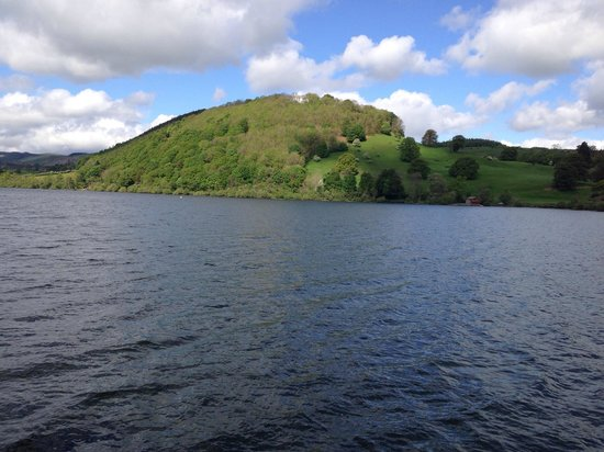 Ullswater Steamers: Views from the boat