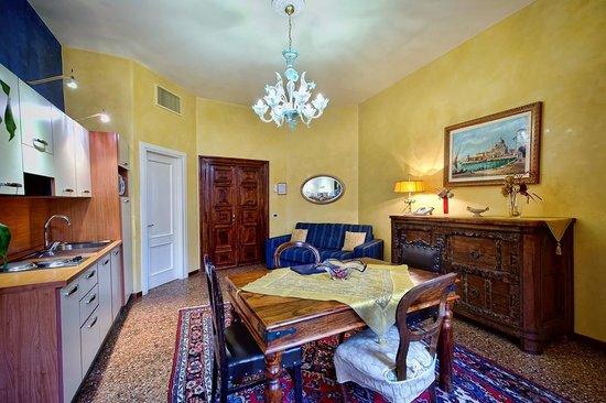 Residence Palazzo Odoni: Living room
