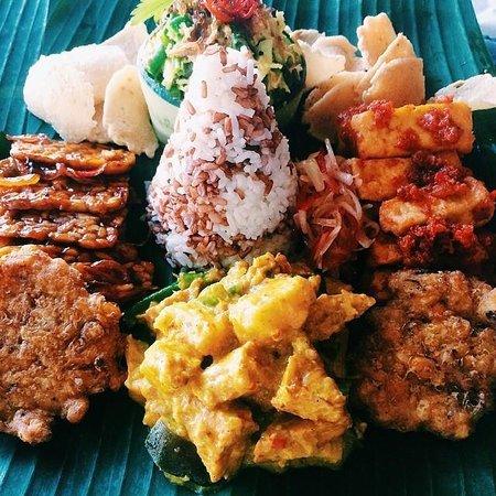 Komang John's Cafe: Nasi Campur