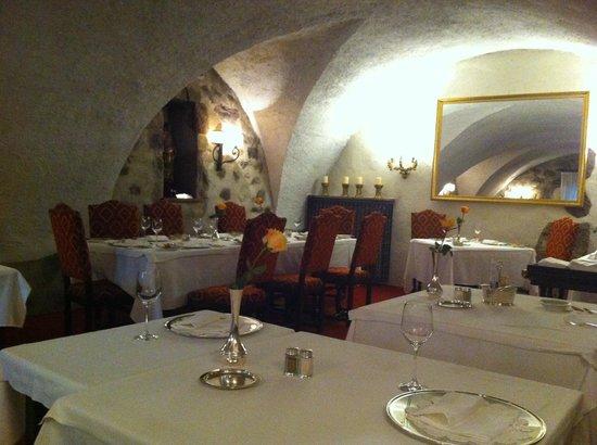 Castel Rundegg Hotel: sehr schöner Speisesaal