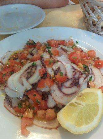 Conte di Galluccio : yummy Octopus