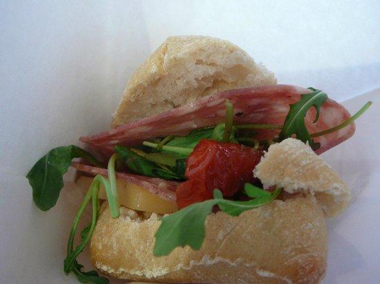 Gourmix: rosette pesto tomate confite