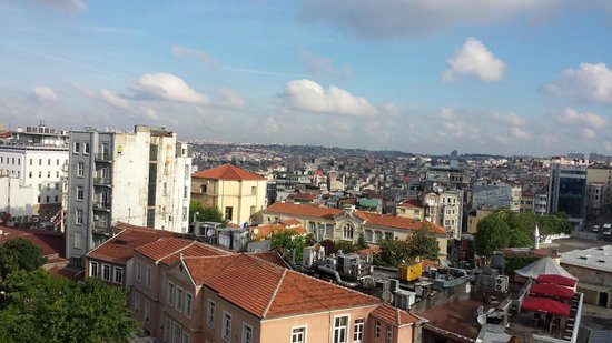 Alkoclar Istanbul Keban: Breakfast roof