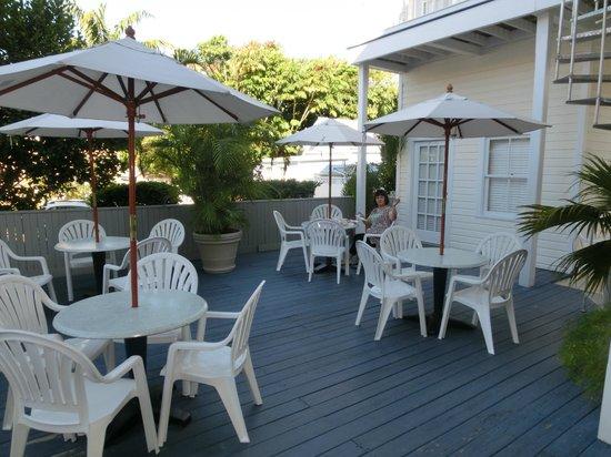 Azul Key West: 朝食スペース