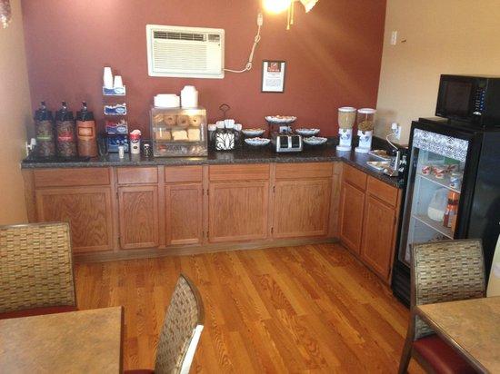 Grand Junction Palomino Inn: Breakfast area
