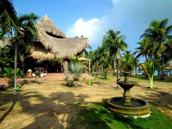 Punta Faro : The main reception area of the hotel