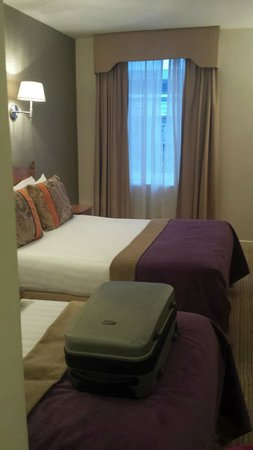North Star Hotel: Double bed