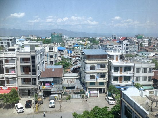 Hotel Yadanarbon : View of the beautiful and scenic Mandalay