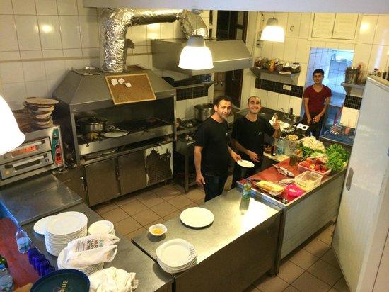 Zeytin Restaurant: Zeythins Küche