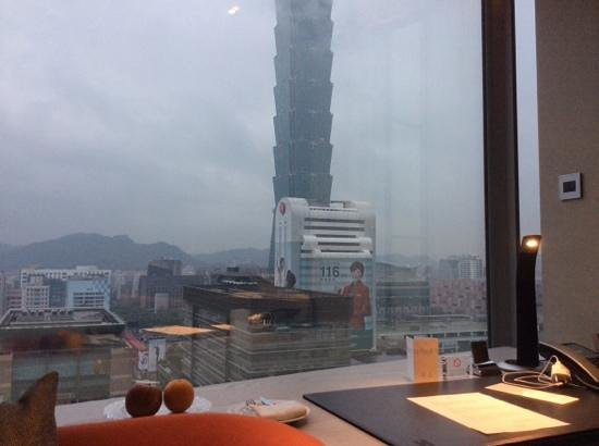 Humble House Taipei: facing the 101 tower day and night