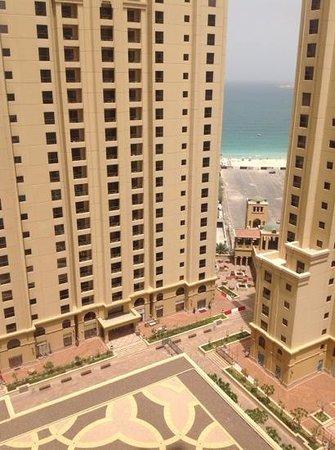 Ramada Plaza Jumeirah Beach: View from the balcony