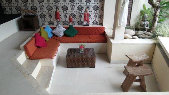 Enigma Bali Villas : Living Area