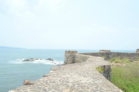 Maachli Homestay: View from Sindhudurg Fort