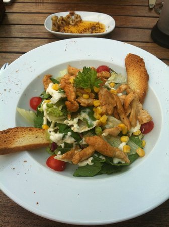 Palma D'Oro: Tavuklu salata