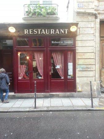 Chez Robert et Louise : Outside view
