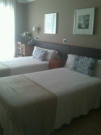 Hotel Arco Navia: Habitaciones muy coquetas y con encanto