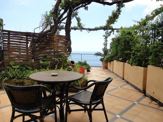 Albergo Punta Regina : Terrace