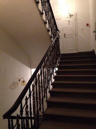 City Club Hotel : Stairs to the rooms