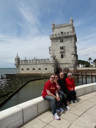 Inside Lisbon Tours : half day tour of Lisbon - Shirley, Gary, Chris and Sharon