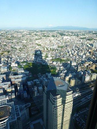 Yokohama Royal Park Hotel : 窓からはきれいに富士山が見えました.