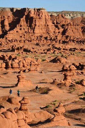Goblin Valley State Park From Overlook