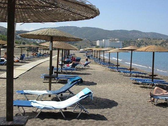 Lindos Mare Hotel : Spiaggia dell'hotel