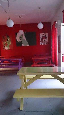 Red Nest Hostel: The kitchen