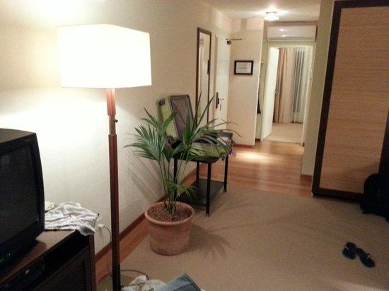 Suitenhotel Parco Paradiso: Visao geral do apartamento