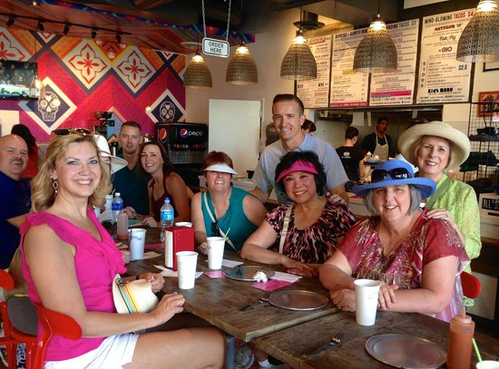 Tucson Food Tours : Brad and the gang at Gio Taco