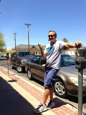 Tucson Food Tours: Brad, outside El Charro