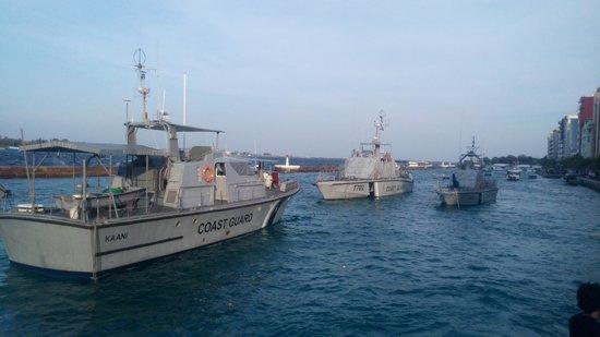 Mulee Aage: Coast guards