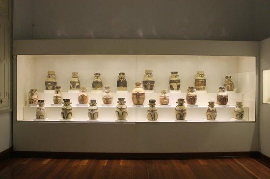 Museo de Minerales Andres del Castillo: Exposición cultura Chancay