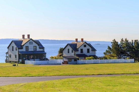 Fort Flagler State Park: NCO quarters on the Sound