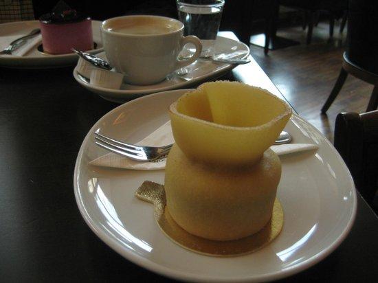 Rausch Schokoladenhaus - Café & Restaurant: Marcipan med frugt