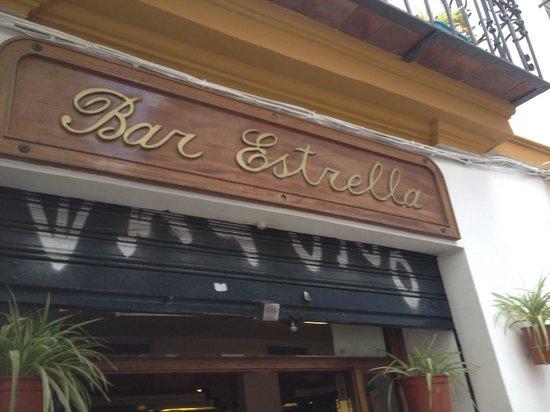Bar Estrella : Bar típico, pero no de lo mejor