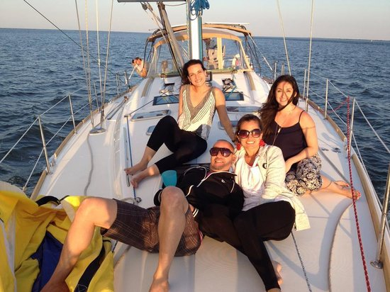 Charleston Sailing Private Day Charters : Sunset cruise. Awesomeness