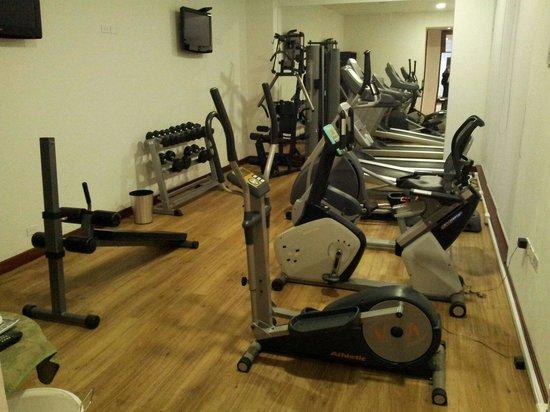 NH Bogota Pavillon Royal: Gym