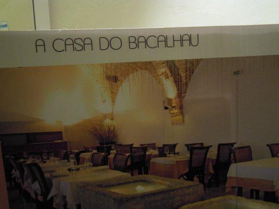 Restaurante A Casa do Bacalhau: manifesto