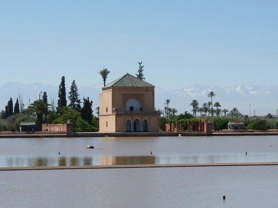 Menara Gardens and Pavilion : Vue du pavillon