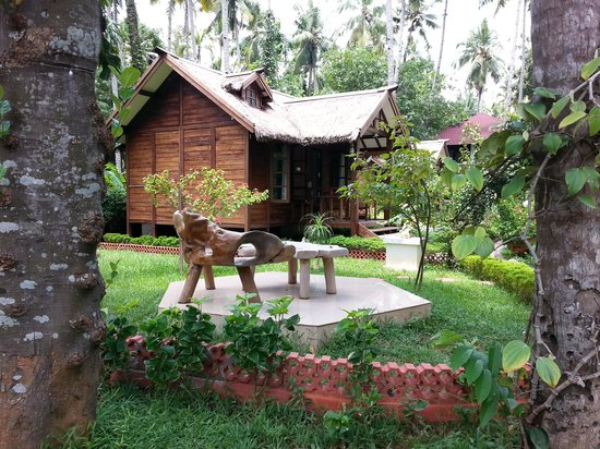 Akhil Beach Resort: One of the cottages