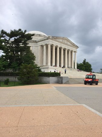 Jefferson Memorial: Such a beautiful memorial