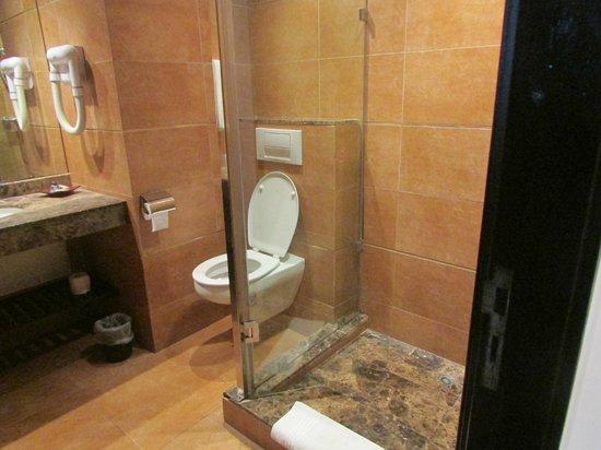 Mercure Rabat Sheherazade: particolare doccia