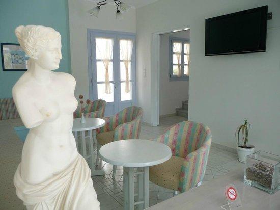 Hotel Aeolis: reception