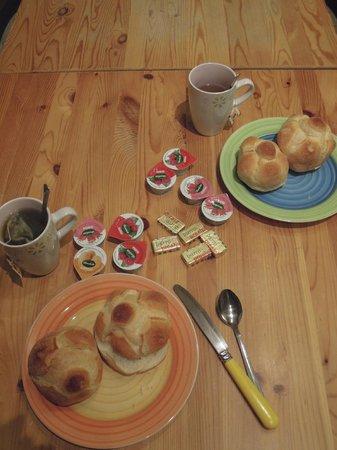 Bed and Breakfast Double B : Desayuno