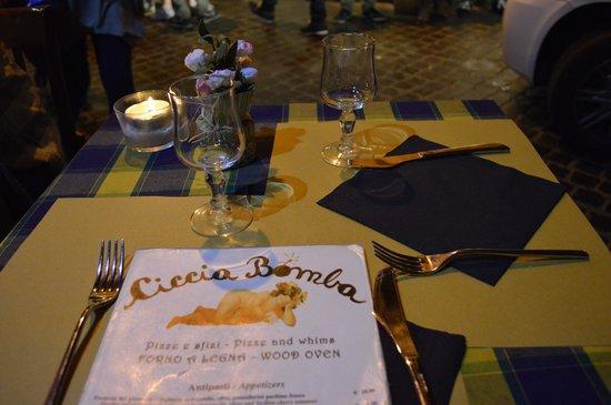 Mastro Ciccia : Ciccia Bomba - notre table