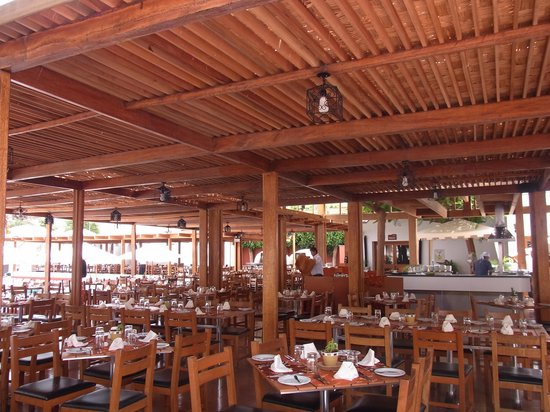 Hotel Las Dunas : レストラン