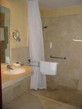 Gloria Palace Royal Hotel & Spa : Bathroom with hand rails