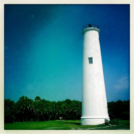 Island Boat Adventures : Egmont Key lighthouse