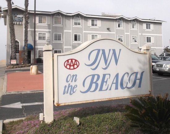 Inn on the Beach: April 17th 2014 while strolling around.